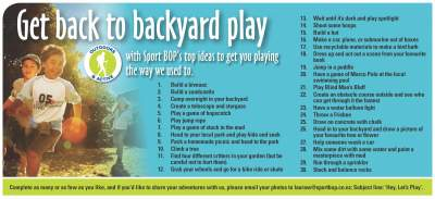 Click here to view the Hey, Let's Play! list.