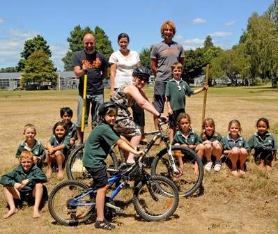 James Street School on track with 'Bikes in Schools' Project