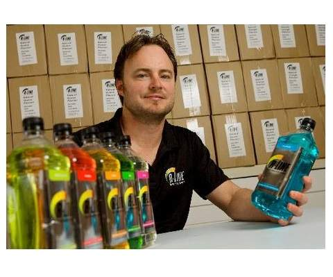 Sports drink entrepreneur on a roll