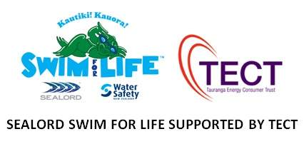 Sealord Swim for Life Initiative, supported by TECT
