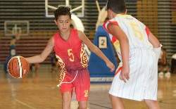 Young Basketballers Show Skills