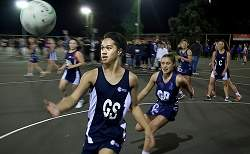 Teen Boy a Hit in School Netball Side