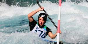 TGA paddler Callum Gilbert.  PHOTO: BOP Times