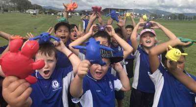 GO4it held a Fun for You Day in Opotiki, where Torere are a kura  in the programme.