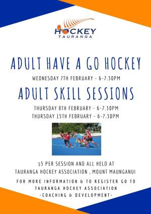 Hockey give it a go