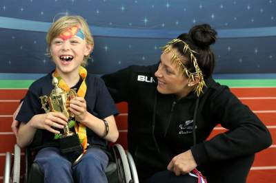 Get up close and personal with Paralympians at the Open Day.