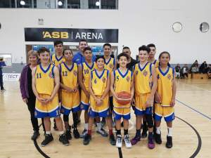 The Tauranga Under 15 Boys team, who won the qualifying tournament.