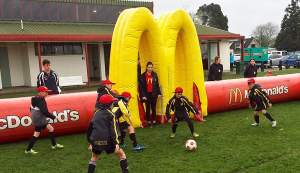 The McDonald's Waikato Junior Five-a-Side Tournament is on next month.