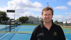 Ex-tennis professional Jason Helms has created the Golden homes Sunday Shootout to be held at the Mount Maunganui Tennis Club.